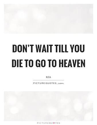 [image] don't wait till you die