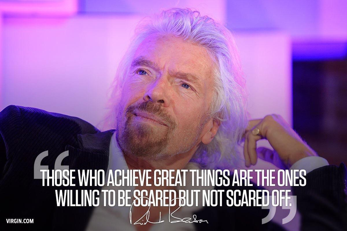 [Image] Face your fears to achieve extraordinary results.