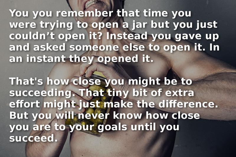 [Image] You are That Close