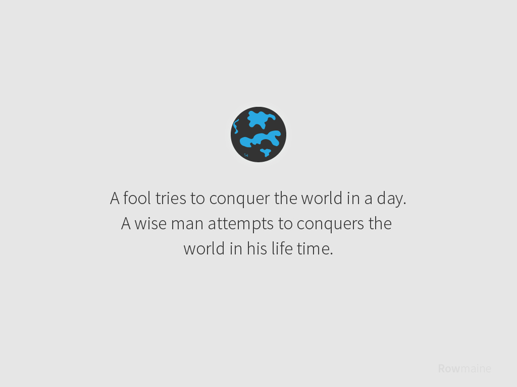 [Image] A fool and a wise man