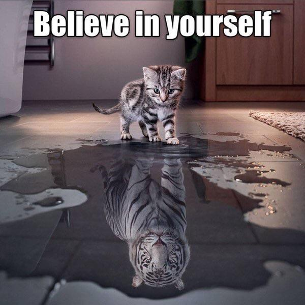 [Image] Believe in yourself.