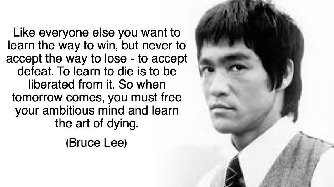 [Image] Bruce Lee wisdom