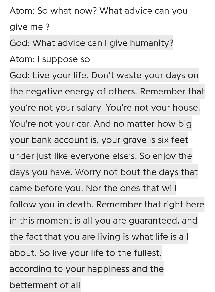 [Image] Live your life