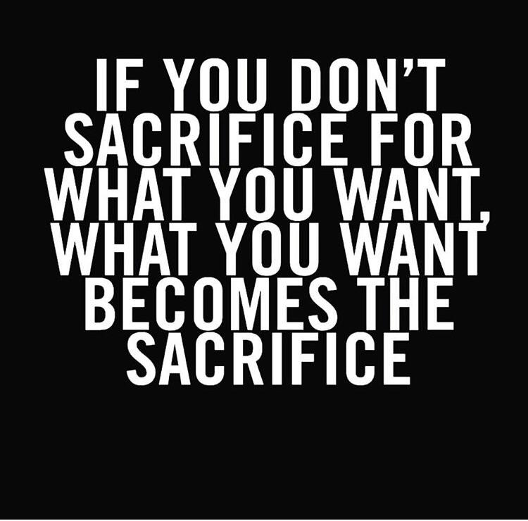 [Image] Some things are worth the sacrifice!