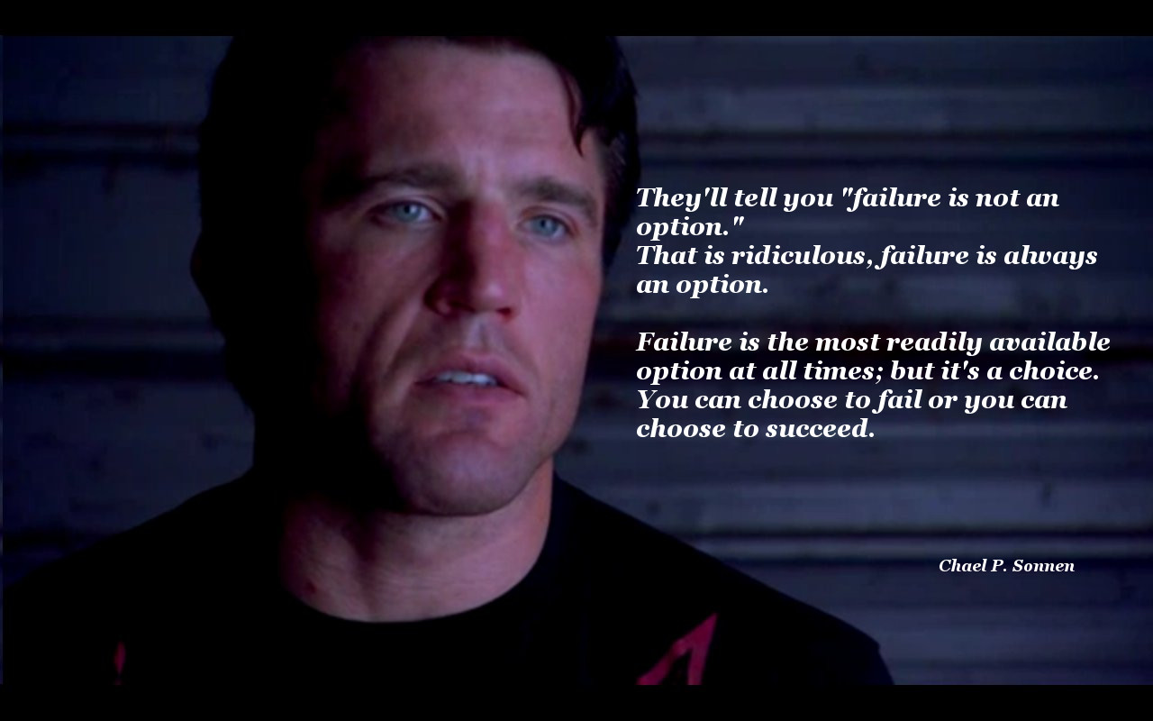 [Image] Failure is always an option