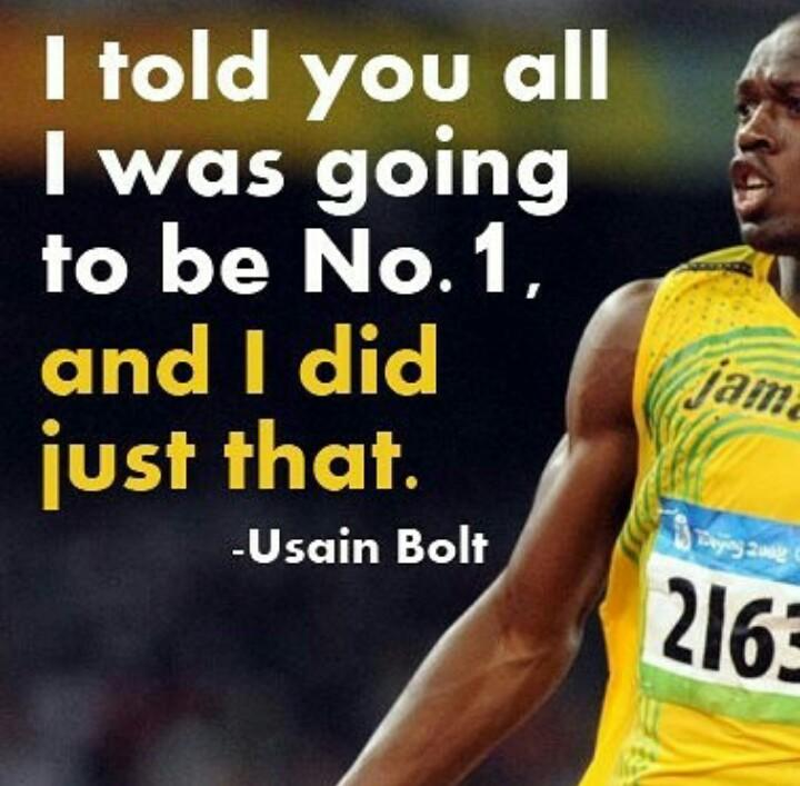 [Image] What an absolute top career he has had. Thankyou for inspiring millions, Usain Bolt.
