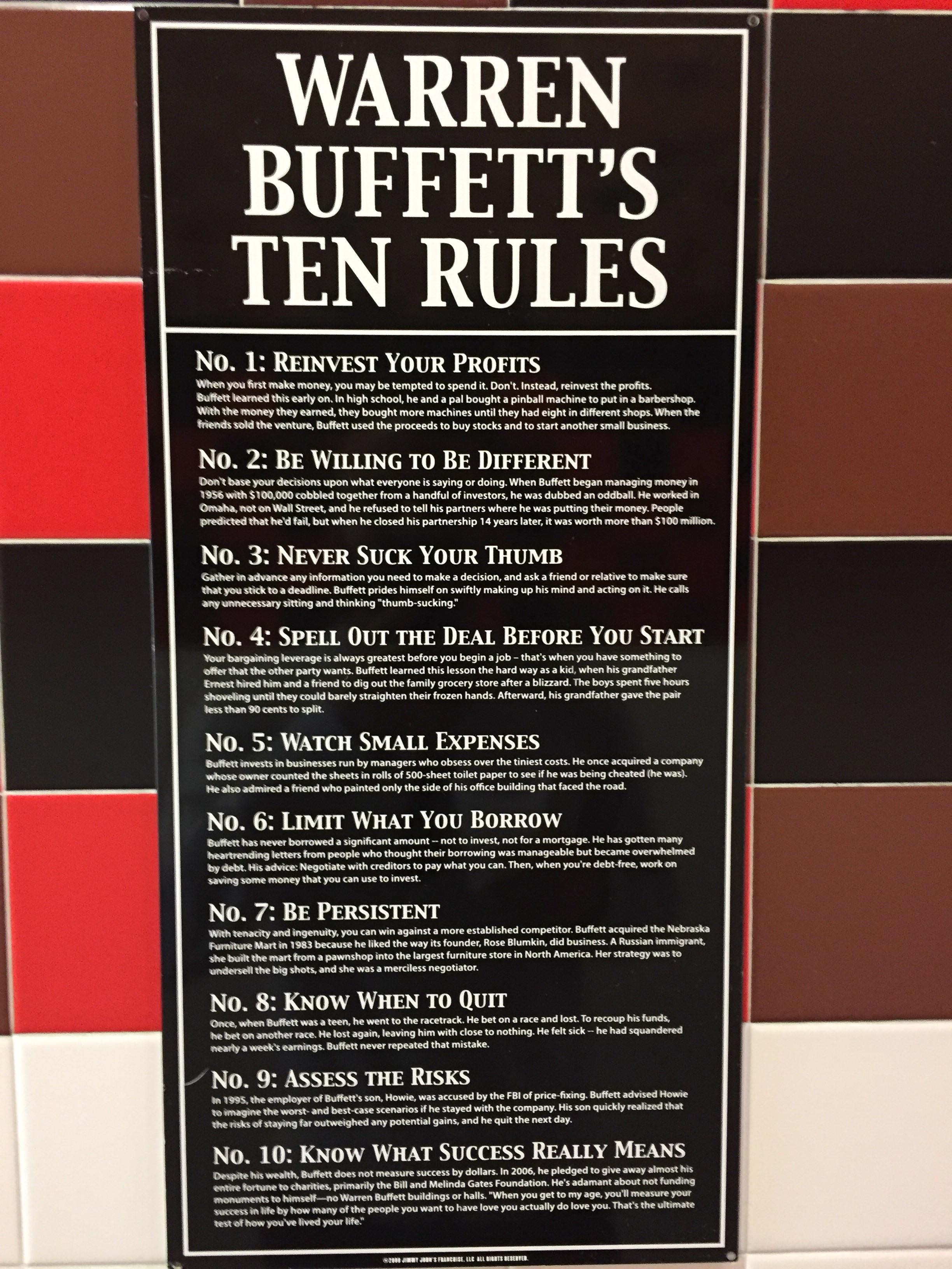 [Image] Spotted this at a Jimmy John's