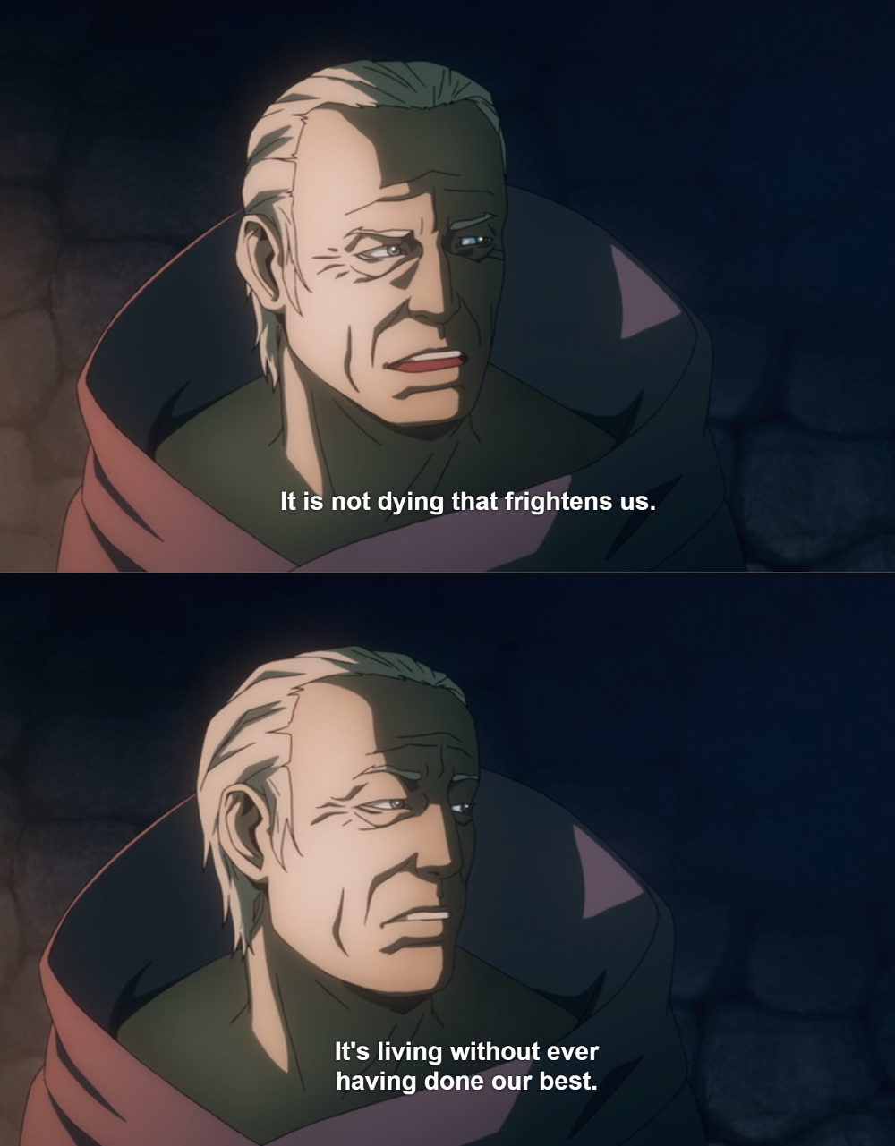 [Image] This line from the Netflix Castlevania show stuck with me