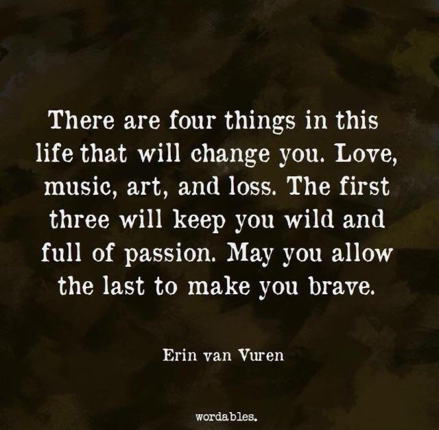 [Image] May you be brave…