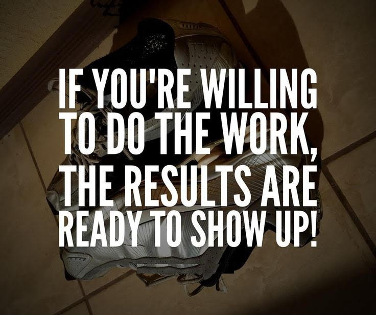 [Image] Do the work