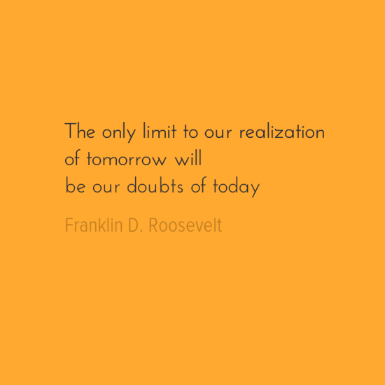 [Image] The only limit to our Realization