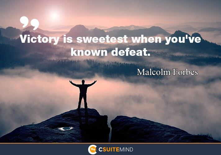 [Image] Victory is Sweet