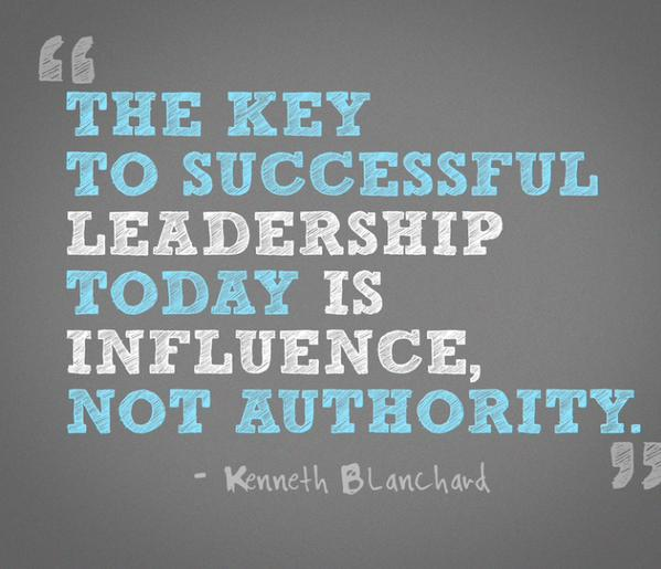 [Image] The key to successful leadership