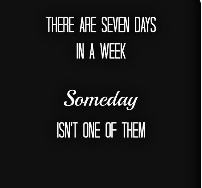 [Image] I'll do it someday….