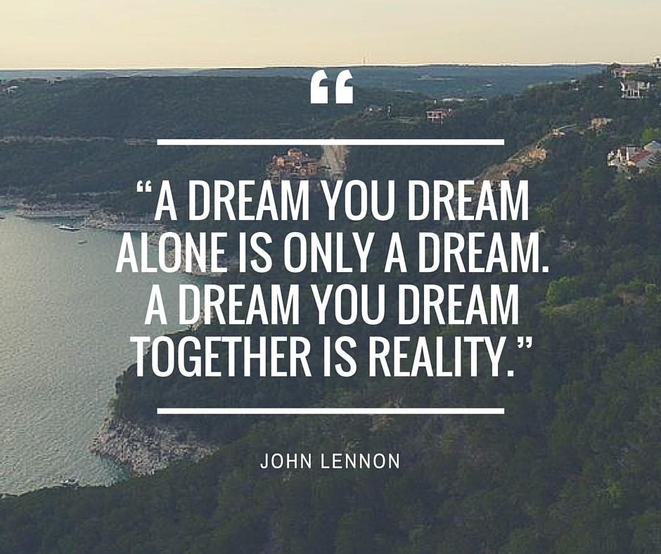[Image] Our dream is bigger.
