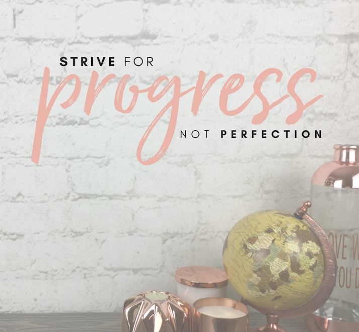 [Image] Progress Over Perfection