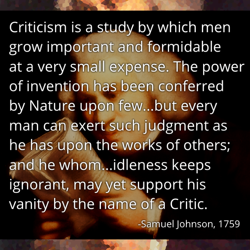[Image] Don't let critics get you down (looking at you, comments section).