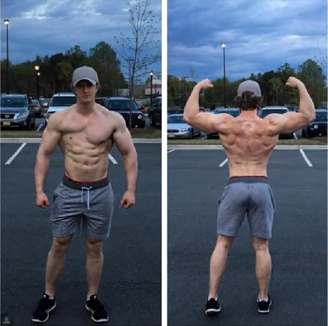[Image][Article] Gunnar Anderson was born with only one pec muscle and doesn't let it stop him