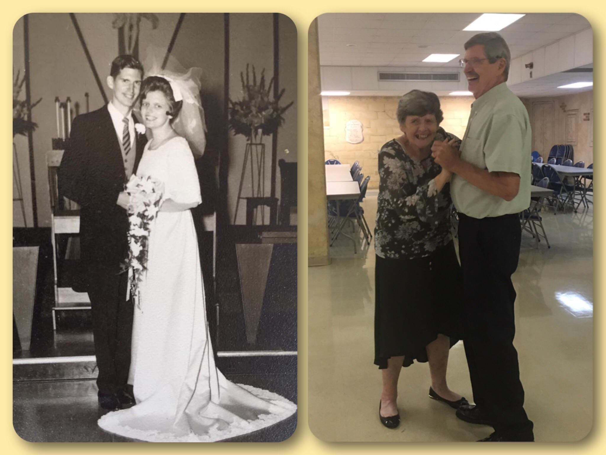 [Image] My boyfriend's parents celebrated their 50th Anniversary yesterday after having 6 kids. They remind us that through rough patches, kids and the other stresses of life, as long as you love each other, the hard work is worth it.