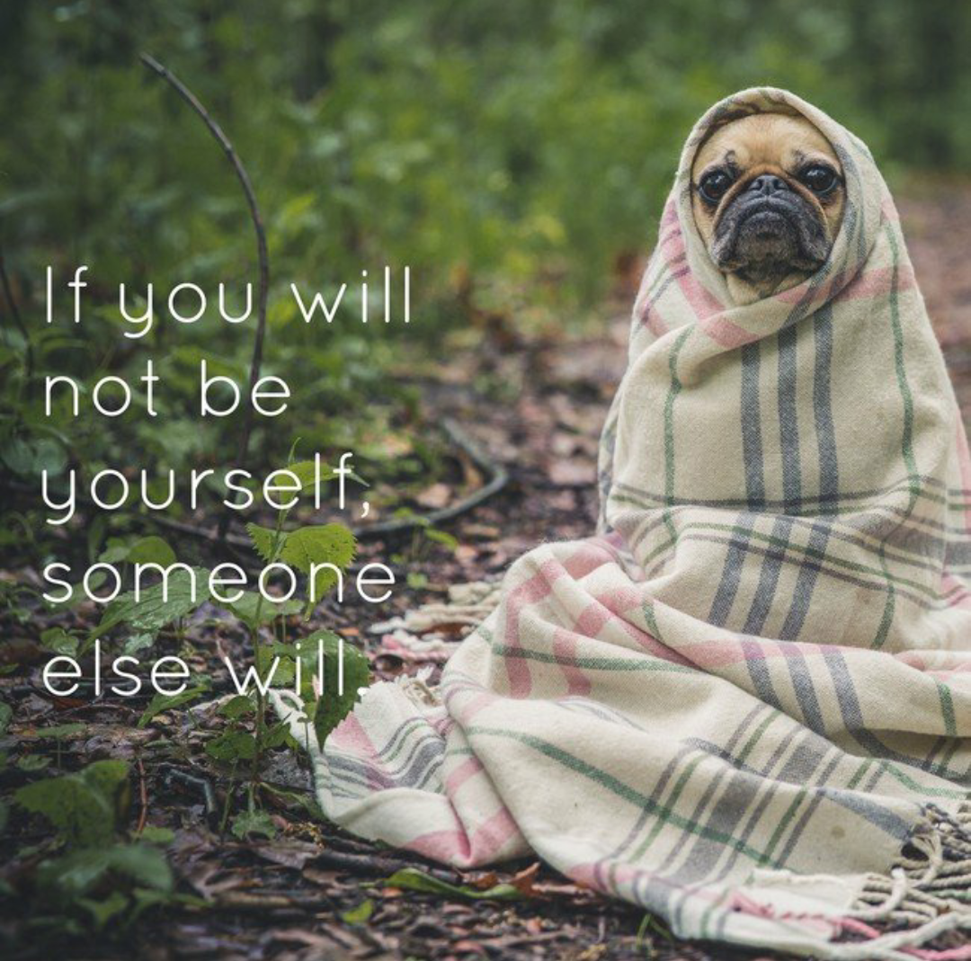 [Image] If you will not be yourself, someone else will