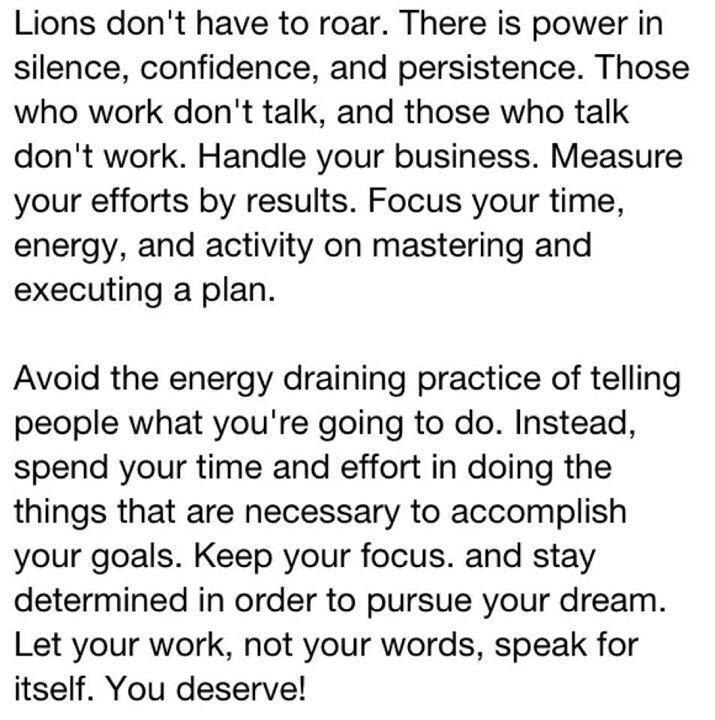 [Image] Lions don't have to roar