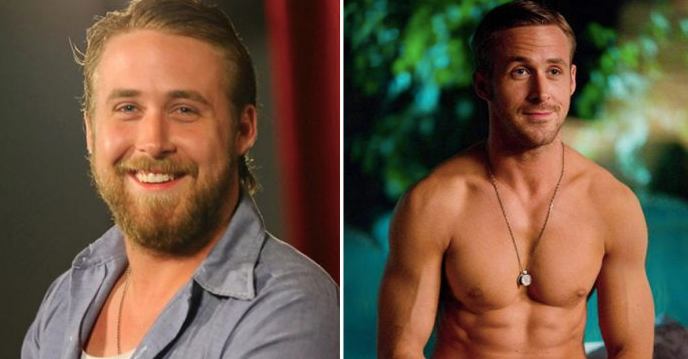 [Image]: Ryan Gosling gained 60 pounds for a role he was eventually fired from: 2 years later he starred in Crazy stupid love