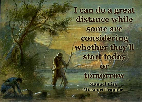 [Image] This Fur Trapper from the 1800s is pretty motivating