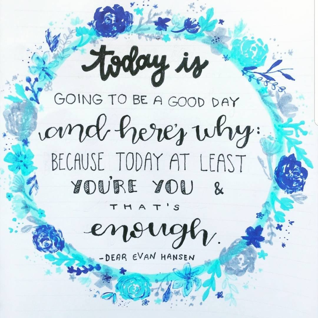 [Image] Today is going to be a good day and here's why: