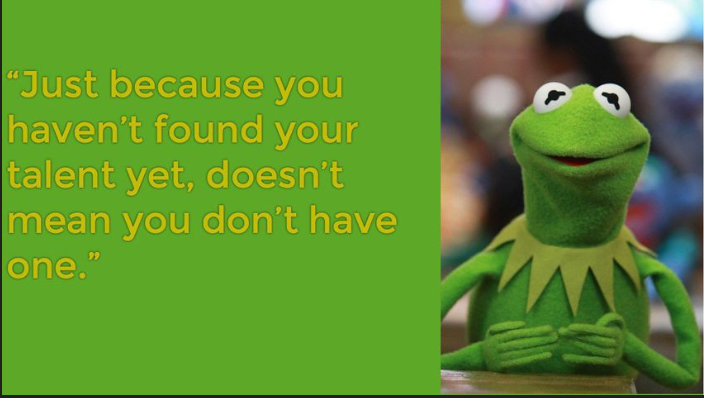 [iMAGE] Kermit to find your talent
