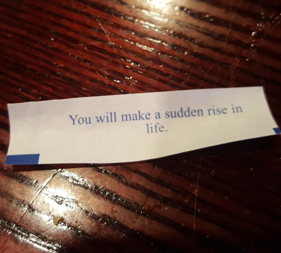 [Image] My Fortune for the Day