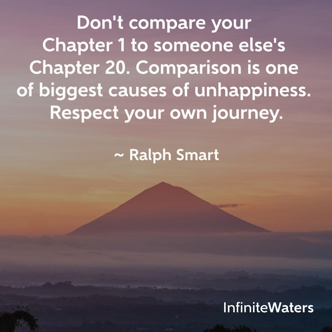 [IMAGE] Don't compare yourself!