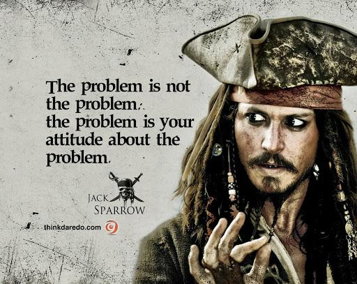 [Image] The Problem Is Not The Problem. savy?