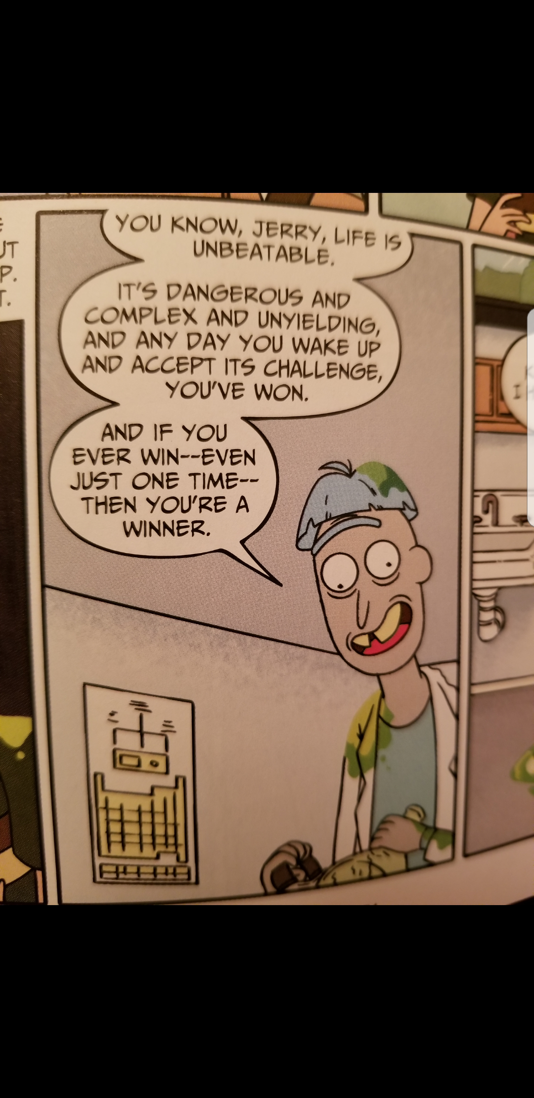 [Image] Doofus Rick motivation