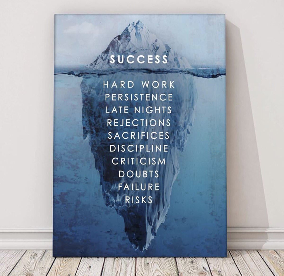 [Image] For those who Believe Success is Luck
