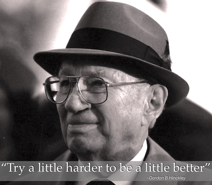 "[Image] If we all would ""try a little hard to be a little better"" imagine what a huge difference we could make together."