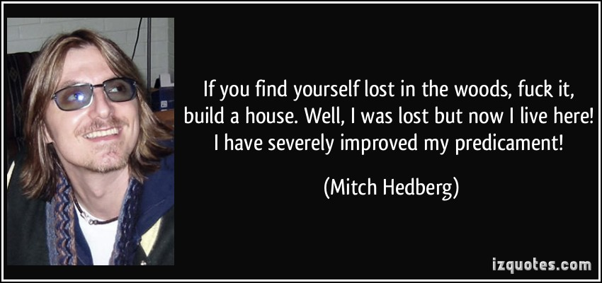 [Image] If you ever find yourself lost