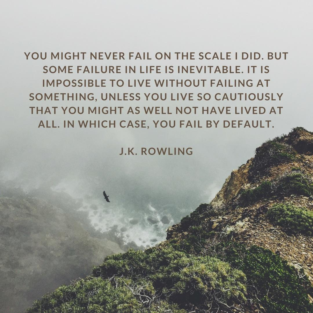 [Image] J.K. Rowling on Failure