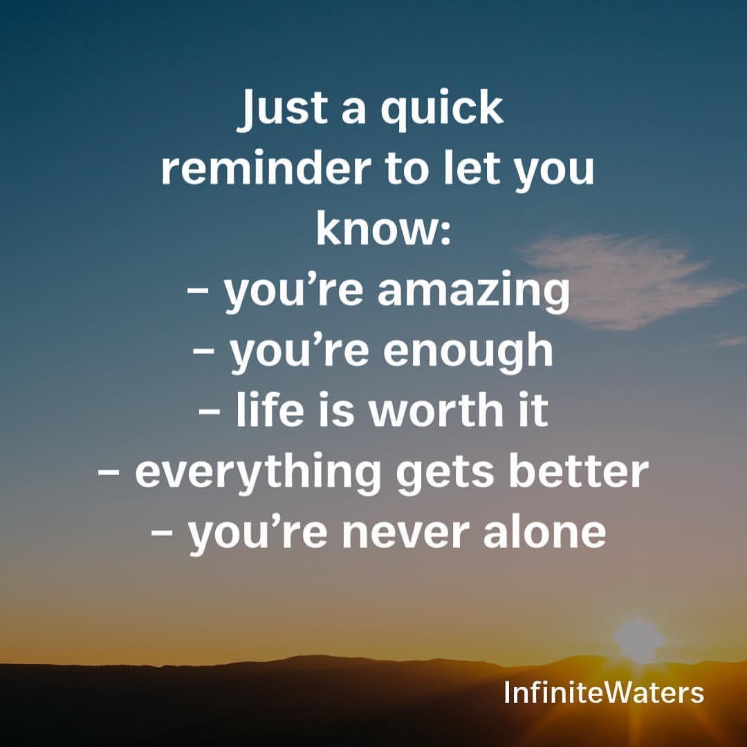 [IMAGE] A reminder.