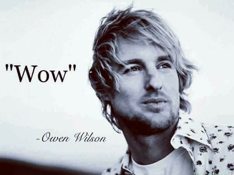 [Image] Owen Wilson's heartfelt quote about appreciating all of the ample gifts, fresh opportunities and stunning miracles that life can offer