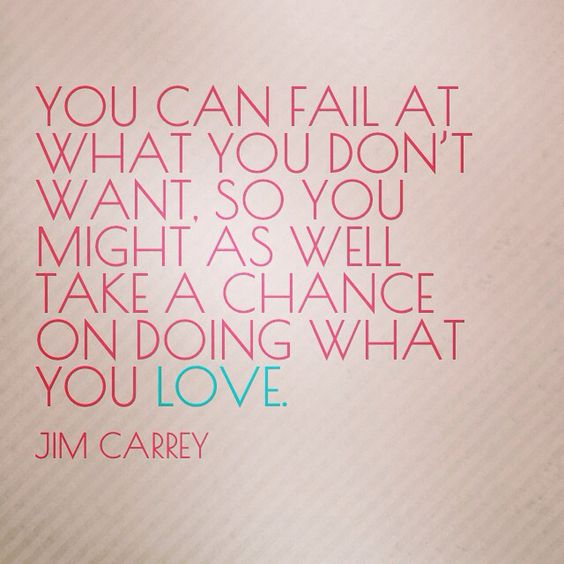 [Image] Just take that chance.
