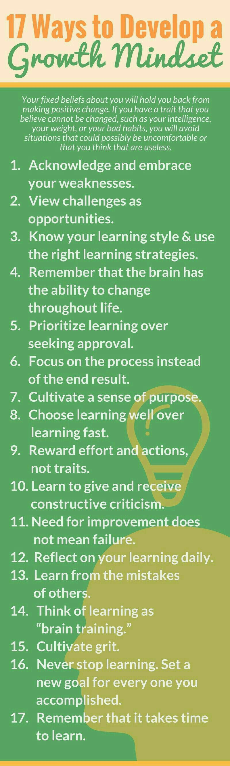 [image] 17 Ways To Develop A Growth Mindset