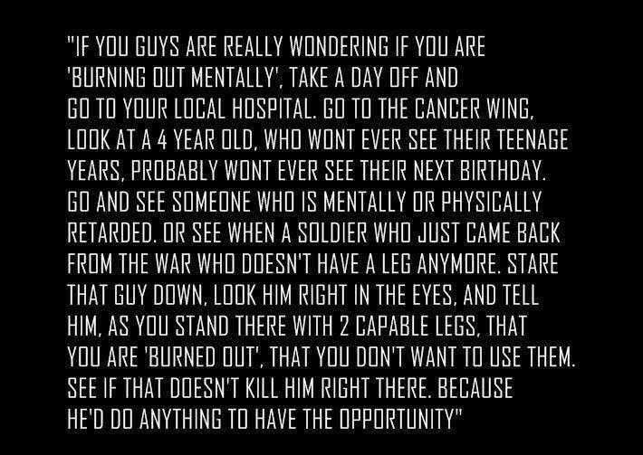 [Image] Are you really burning out mentally?