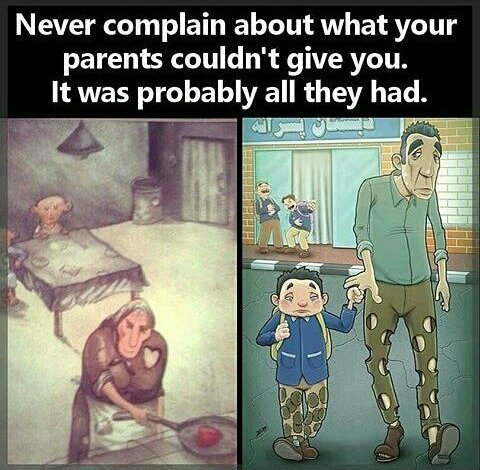 [Image] Thank Your Blessings And Never Complain