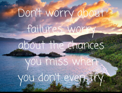 [Image] Don't worry about failures