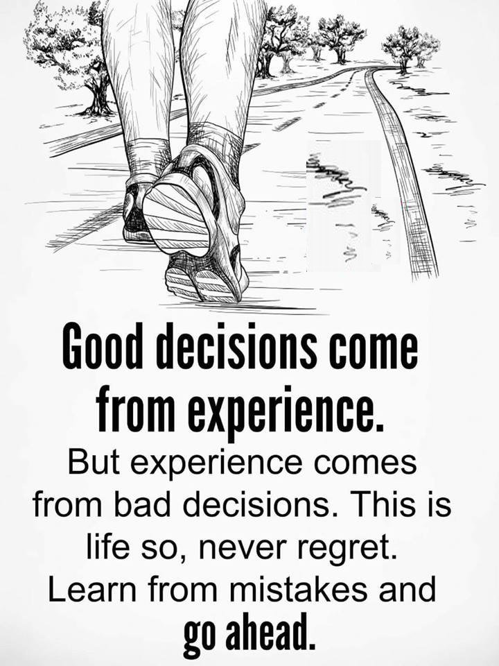 [Image] sometimes Bad decision is just the beginning.