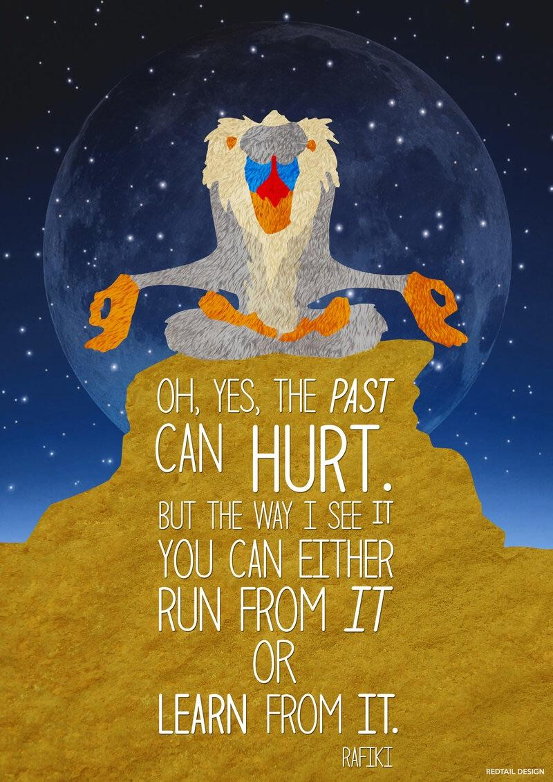 [Image] Don't regret the past, rethink the future