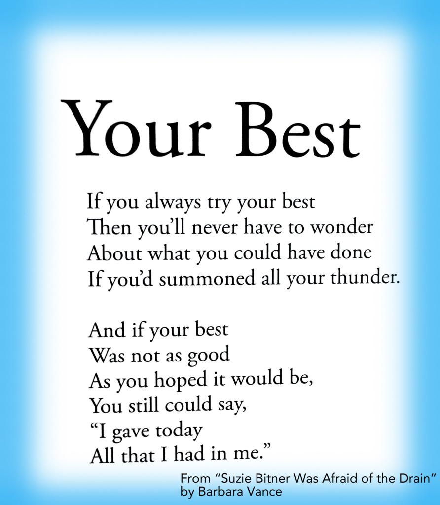 [Image] your best