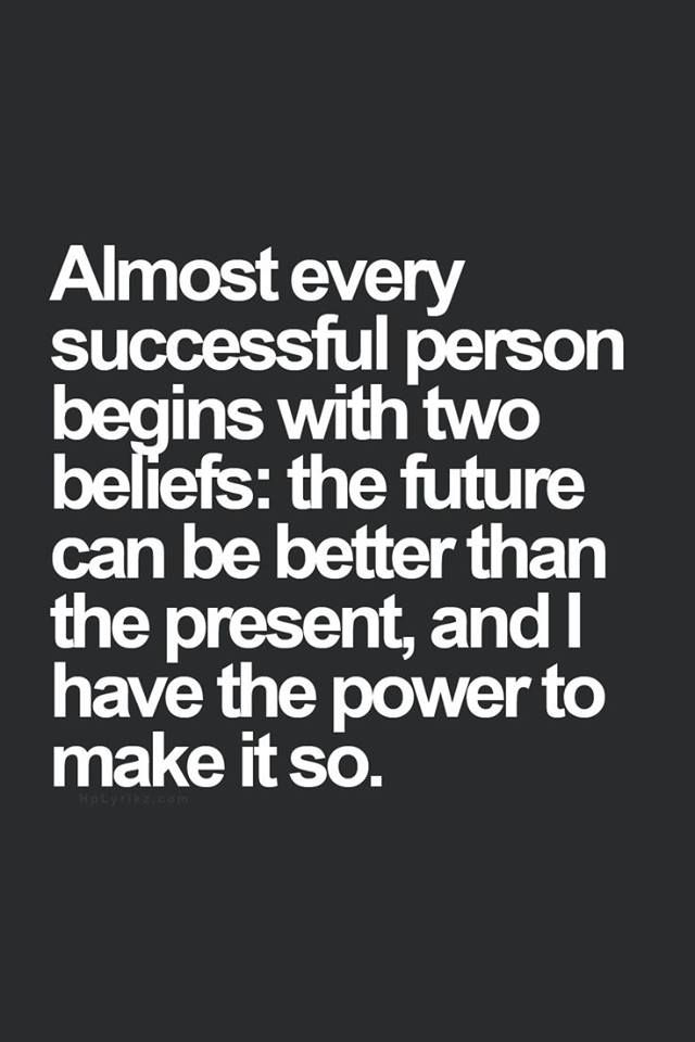 [Image] 2 Beliefs Of A Successful Person