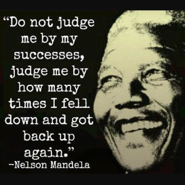 [Image] Wise words by Mandela