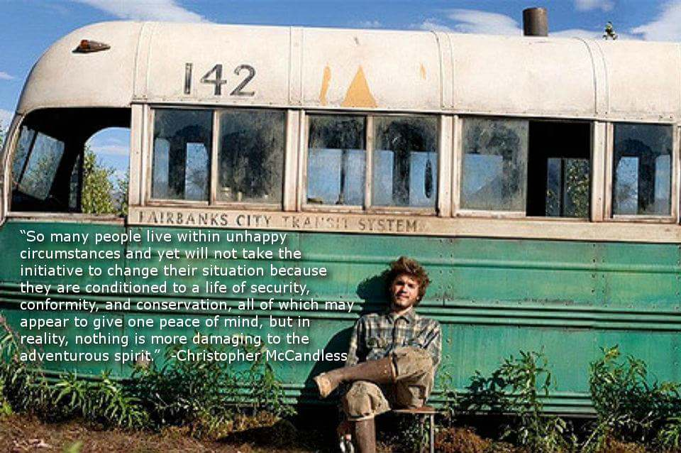 [Image] Christopher McCandless quote